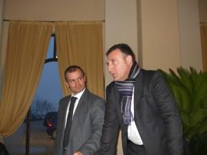 Capitan Bottazzi e l'a.d. Calciolari studiano il piano d'azione ...